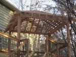 wooden gazebo Bright Star