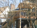 wooden deck Bright Star