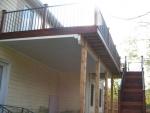 Cherry Ridge under deck ceiling installation