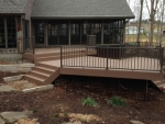 custom deck Country Club Ln