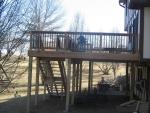 cedar deck Country Woods
