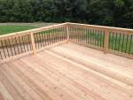 Deerfield Ridge cedar deck - after