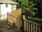 deck service Dustin Ct – before