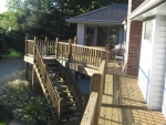 Dustin Ct deck service – before