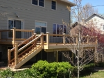 deck in Hulen Dr