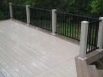 custom deck Hulen Columbia
