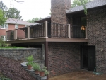 Hulen Columbia deck installation