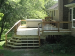 wooden deck Molly Ln