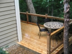 custom deck North Deerborn Circle