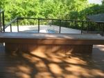 Osage Ridge deck construction