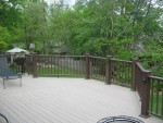 newly built deck Ridgefield Dr