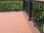 S Cedar Lake wooden deck