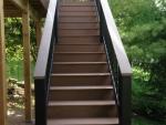S Cedar Lake deck service