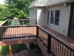 S Cedar Lake deck installation