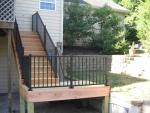 Saddle Ridge Dr wooden deck