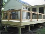 wooden deck Stonehenge