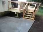 Stonehenge wooden deck