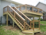 Timbers Ct cedar deck