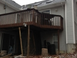 deck Wildwood – before