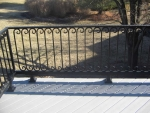 Woodrail Terrace deck