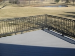 Woodrail Terrace custom deck