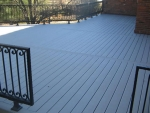 Woodrail Terrace deck building