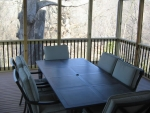 Bear Creek Dr wooden deck