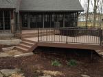 custom deck Country Club Ln