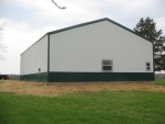barn construction Everett School