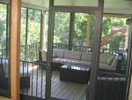 cedar deck Hillshire