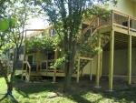 Hillshire cedar deck