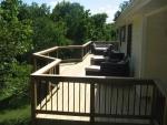 deck installation Hillshire