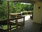 Hillshire deck installation