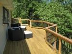 Hillshire wooden decks