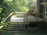 wooden deck Molly Ln