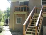 Molly Ln wooden deck