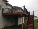 New Castle deck construction