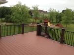 New Castle custom deck