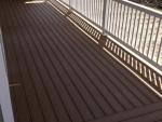 New Franklin deck installation