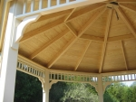Peabody wooden gazebo – after