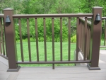 deck installation in Ridgefield Dr