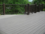 deck construction Ridgefield Dr – after