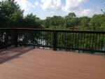 wooden deck S Cedar Lake