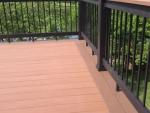 S Cedar Lake wooden deck