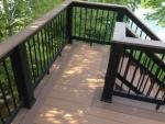 S Cedar Lake deck installation