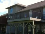 custom deck in Sable