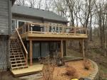 custom deck Winding River