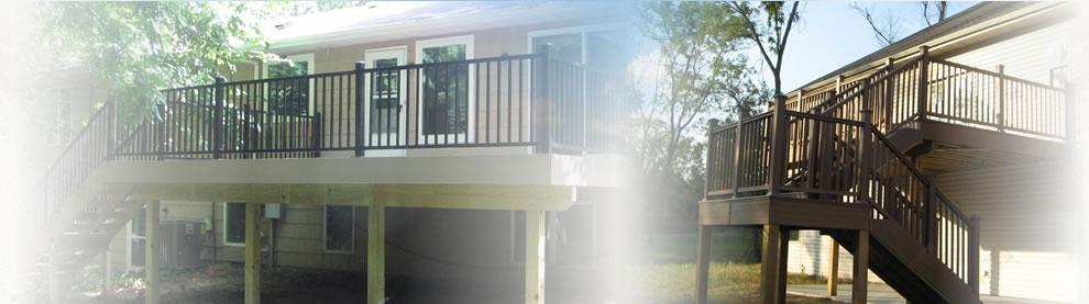 custom wooden decks Missouri